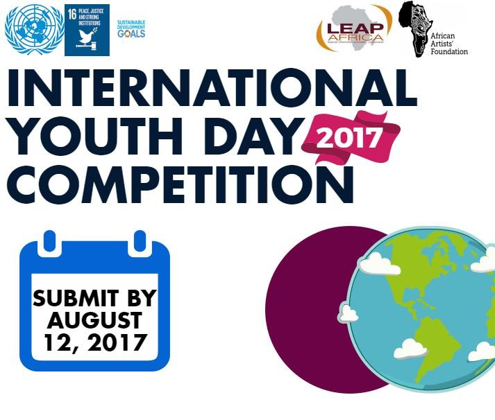 LEAP Africa International Youth Day Competition 2017 #Youth4Peace #LEAP_IYD_Challenge – Scholarship and Grants Opportunities